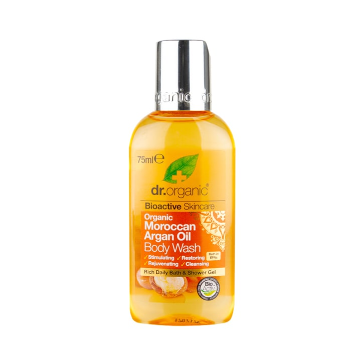 Dr Organic Moroccan Argan Oil Body Wash Travel Size 75ml