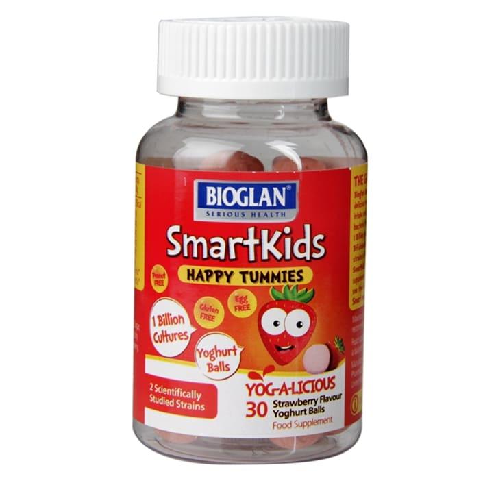 Bioglan SmartKids Happy Tummies 30 Yoghurt Balls