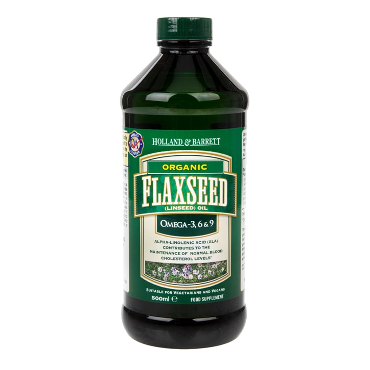 Holland & Barrett Flaxseed Oil