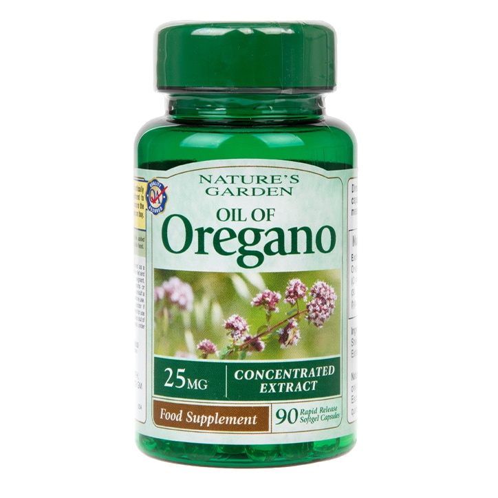 Good n Natural Oil of Oregano Capsules 25mg