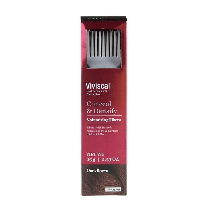 Viviscal Conceal & Densify Volume Fibres Dark Brown