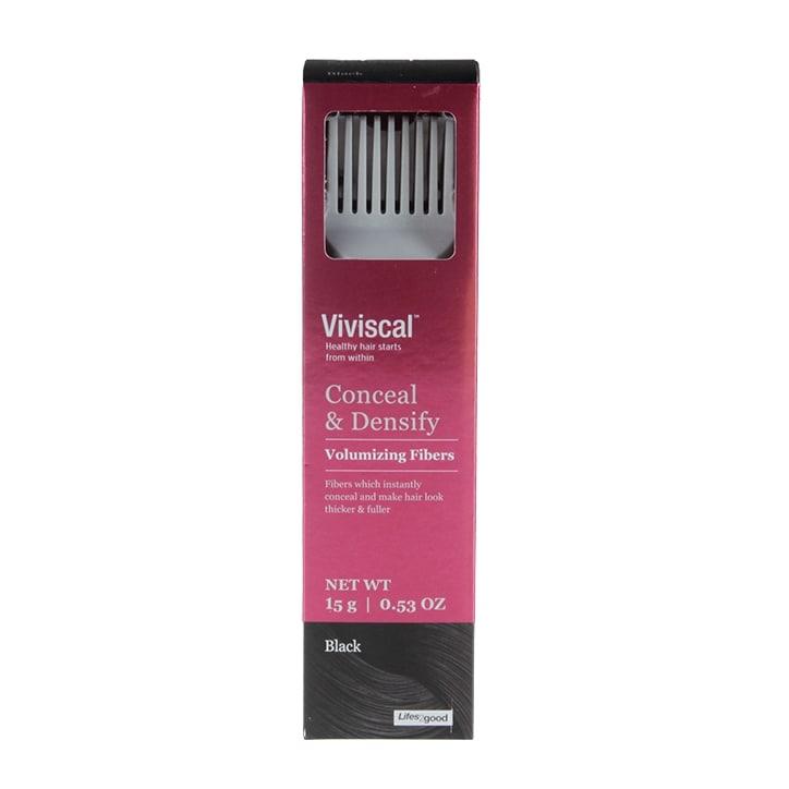 Viviscal Conceal & Densify Volume Fibres Black