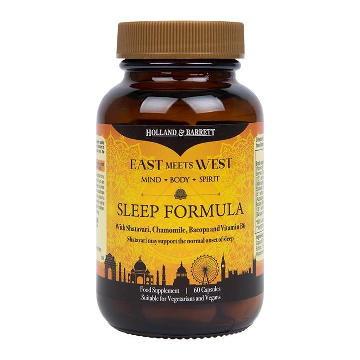 Holland & Barrett East Meets West Sleep Formula 60 Capsules