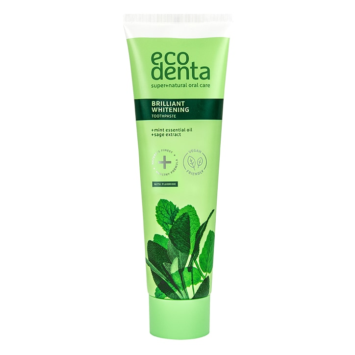 Ecodenta Whitening Toothpaste with Mint Oil, Sage Extract & Kalident