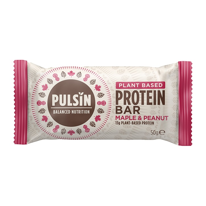 Pulsin Maple & Peanut Protein Booster 50g Bar