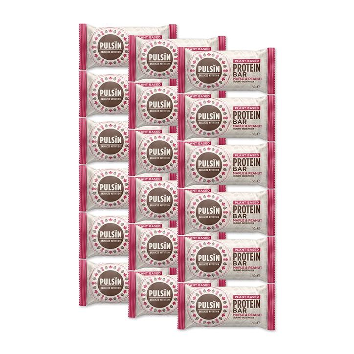 Pulsin Maple & Peanut Protein Booster 18 x 50g