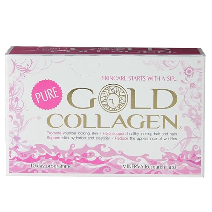 Minerva Pure Gold Collagen 10 x 50 ml