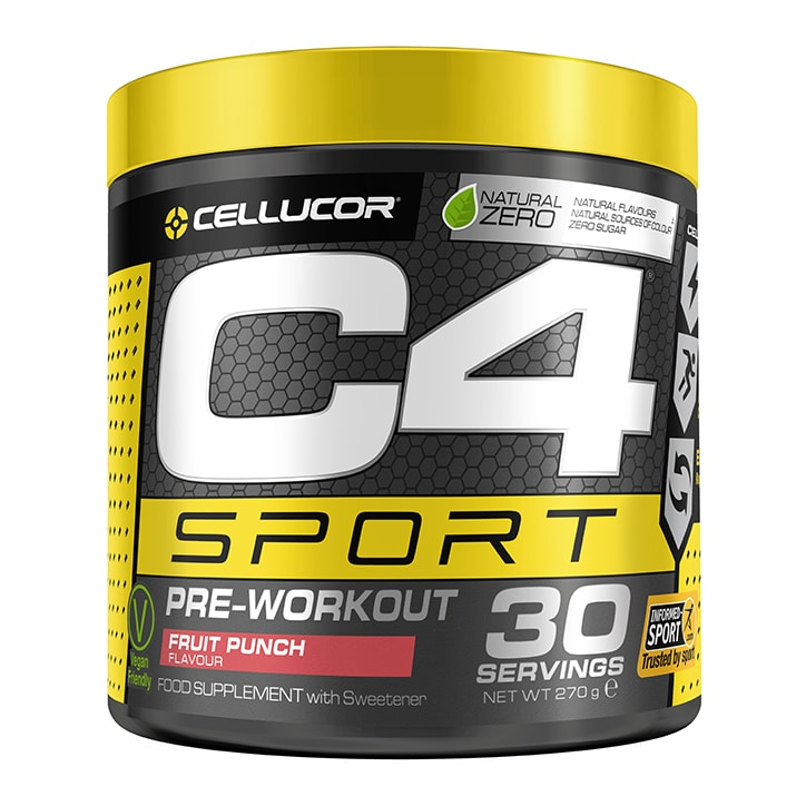 Cellucor C4 Sport Pre-Workout Fruit Punch