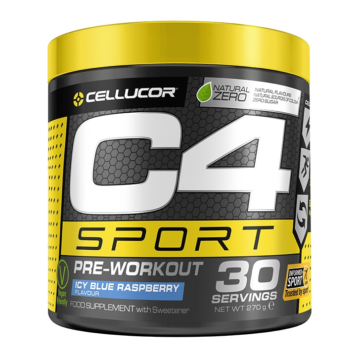 Cellucor C4 Sport Pre-Workout Icy Blue Raspberry
