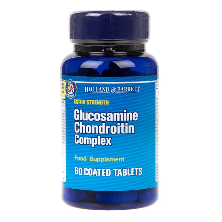 Holland & Barrett Extra Strength Glucosamine Chondroitin Complex 60 Tablets