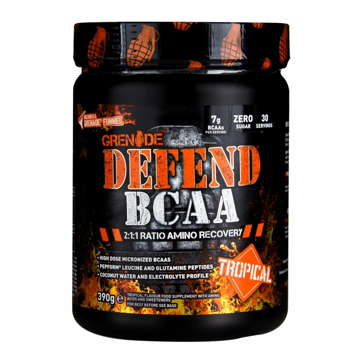 Grenade Defend BCAA Tropical 390g