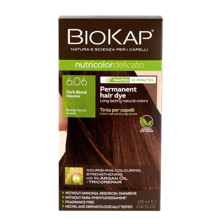 BioKap Dark Blond Havana Dye 135ml