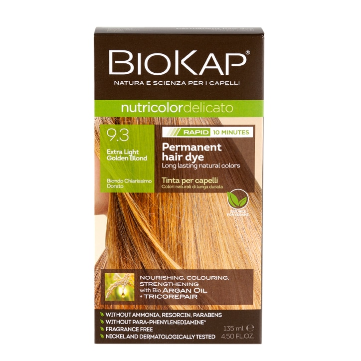 BioKap Extra Light Golden Blond Dye 135ml