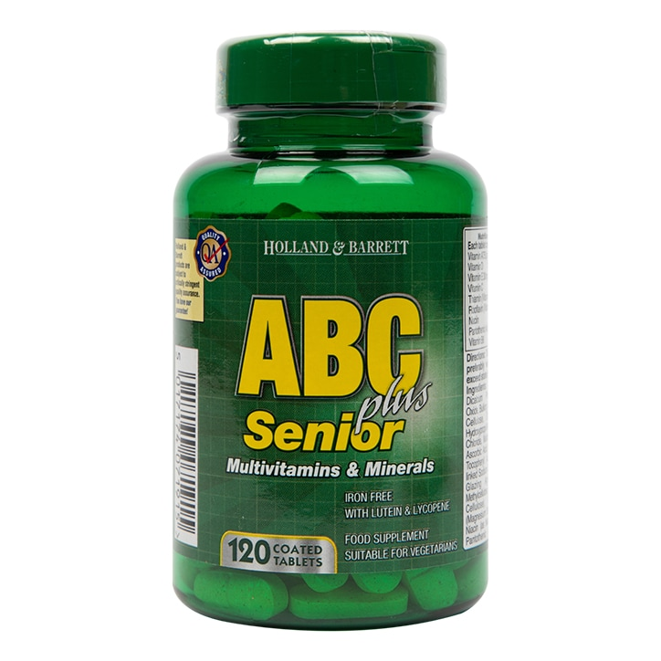 Holland & Barrett ABC Plus Senior 120 Caplets