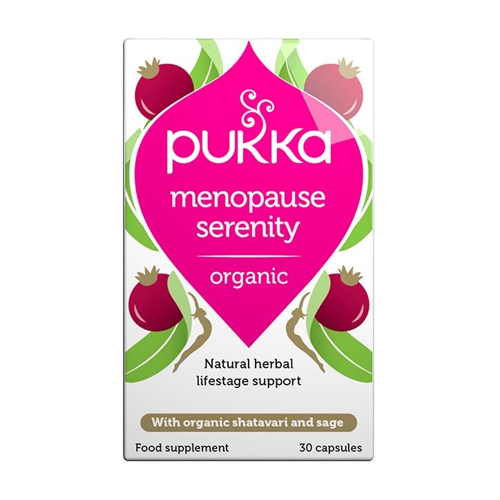 Pukka Menopause Serenity Organic 30 Capsules