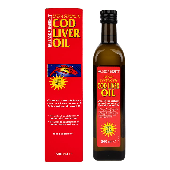 Holland & Barrett Cod Liver Oil Liquid 500ml
