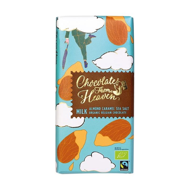 Chocolates from Heaven Milk Salted Almond & Sea Salt 100g