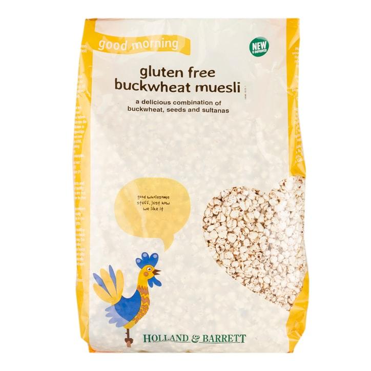 Holland & Barrett Gluten Free Buckwheat Muesli
