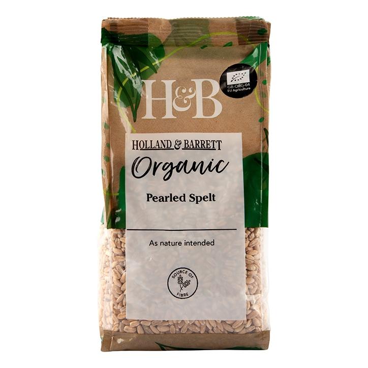 Holland & Barrett Organic Pearled Spelt 500g
