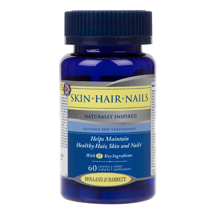 Holland & Barrett Skin Hair and Nails Formula 60 Caplets