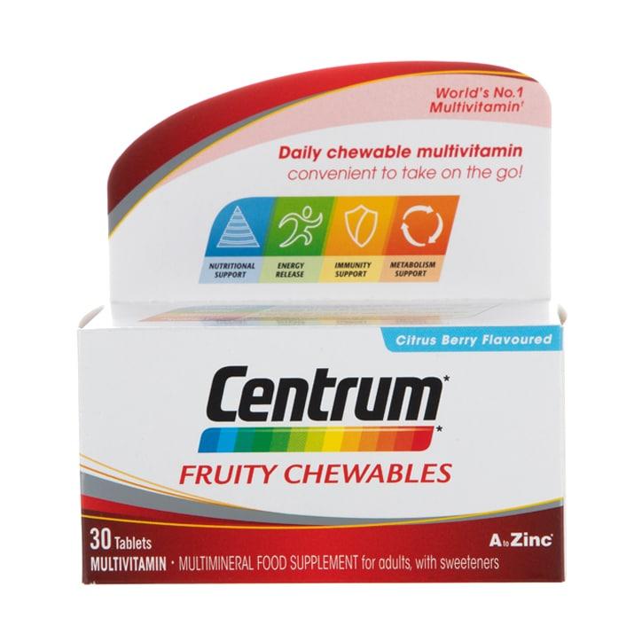 Centrum Fruity Chewables Tablets