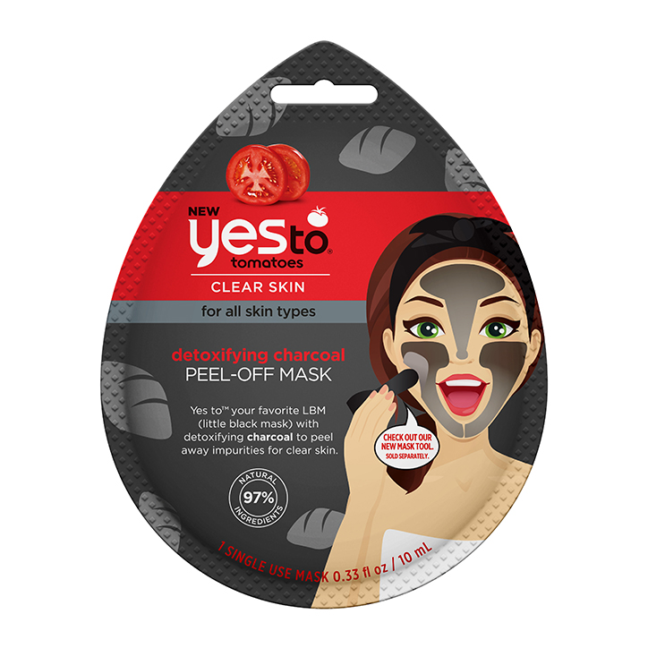 Yes To Tomato Charcoal Peel Off Mask