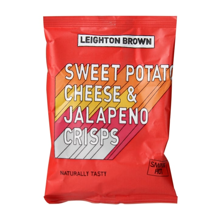 Leighton Brown Sweet Potato Chips With Cheese & Jalapeno