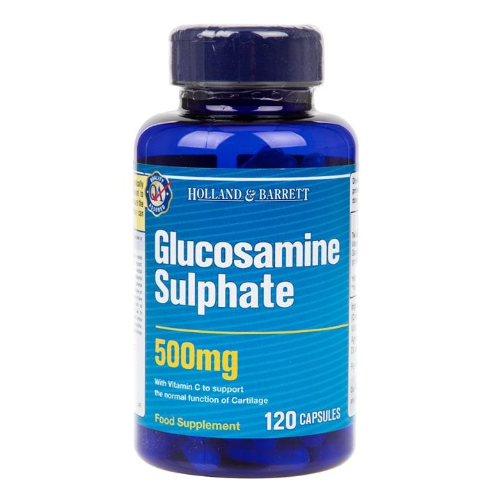Holland & Barrett Glucosamine Sulphate 120 Capsules 500mg