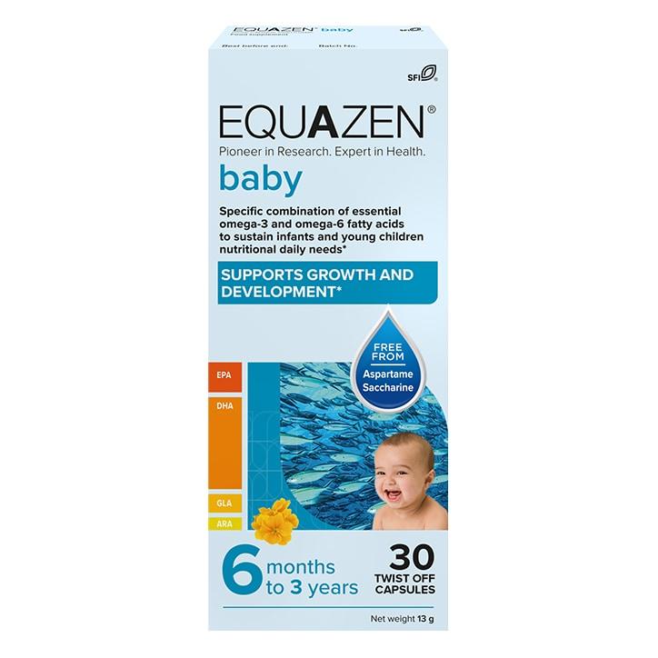 Equazen Baby 30 Twist Off Capsules