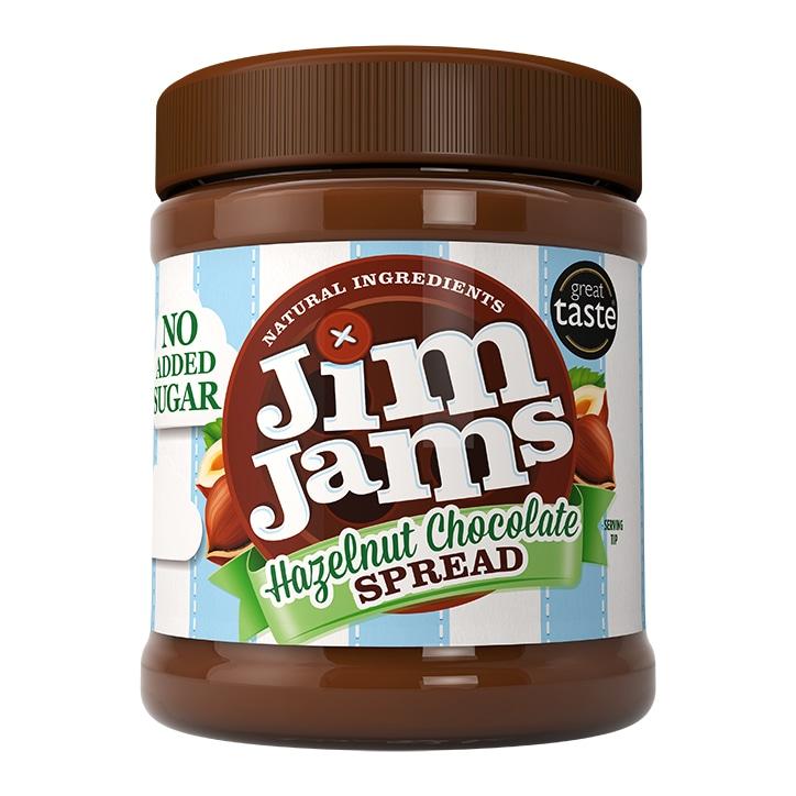 Jim Jams 83% Less Sugar Hazelnut Chocolate Spread 350g