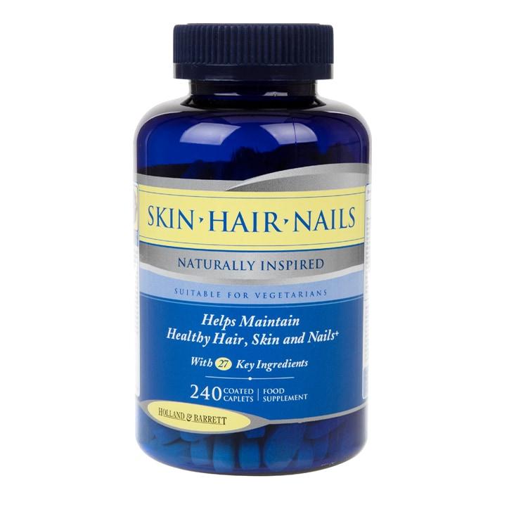 Holland & Barrett Skin Hair and Nails Formula 240 Caplets