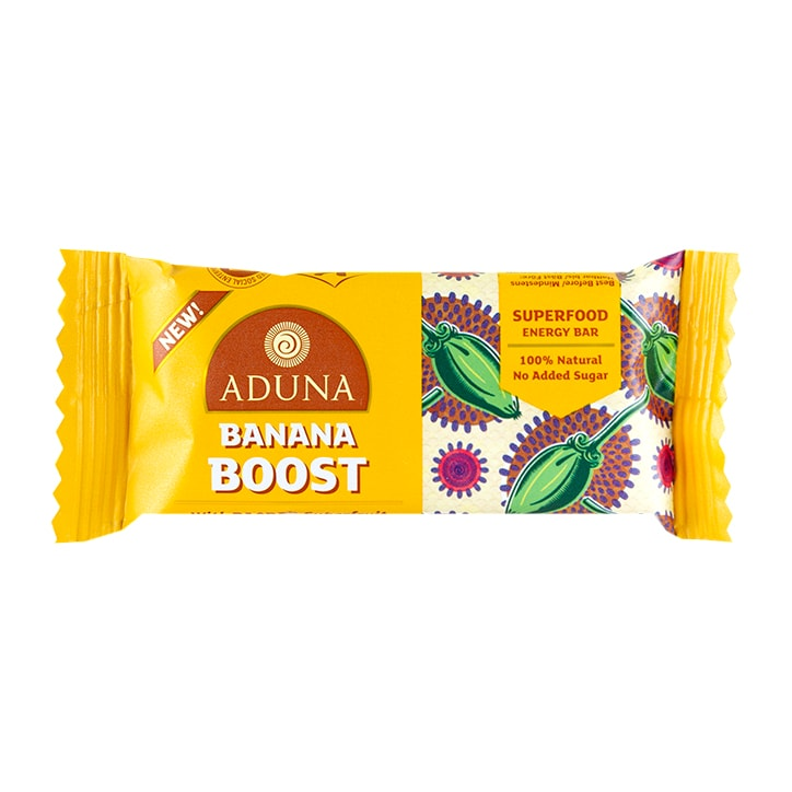 Aduna Superfood Energy Bar Banana Boost 40g