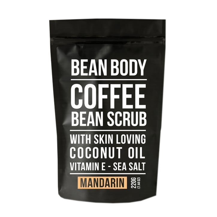Bean Body Mandarin Coffee Bean Scrub 220g