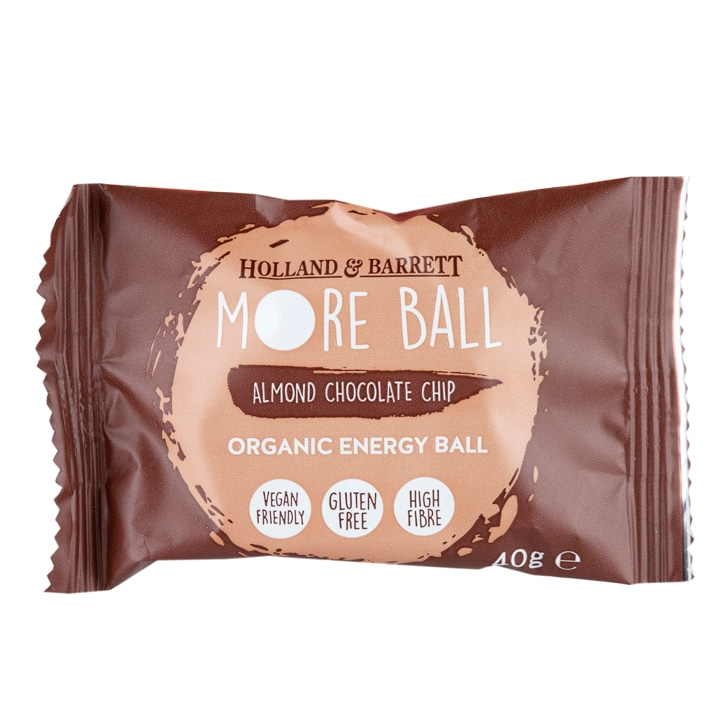 Holland & Barrett Almond Chocolate Chip More Ball 40g