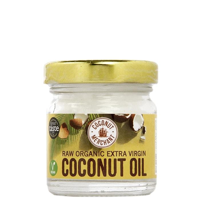Coconut Merchant Raw Organic Extra Virgin Coconut Oil Trial Size 35ml