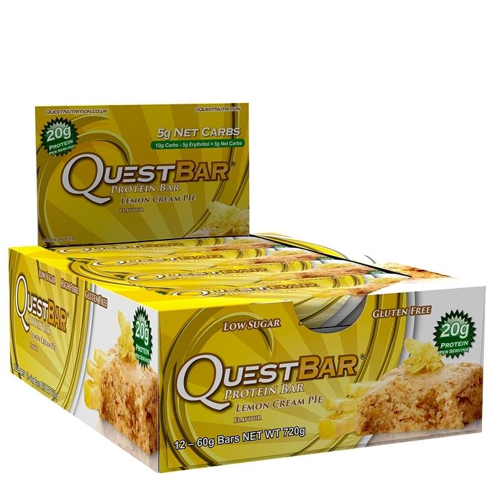 Quest Bar Lemon Cream Pie 12x60g
