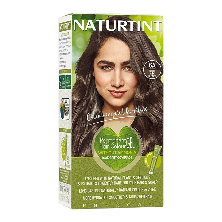 Naturtint Permanent Hair Colour 6A (Dark Ash Blonde)