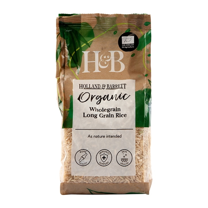 Holland & Barrett Organic Brown Rice 500g