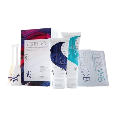 YES Water Based & Plant-oil Based Natural Lubricant Intro Pack