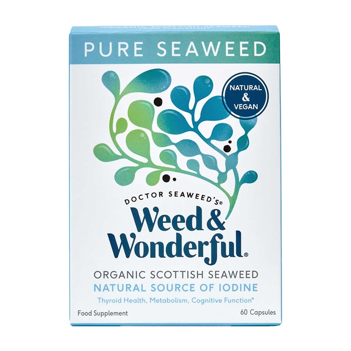 Weed & Wonderful Organic Scottish Seaweed 60 Capsules