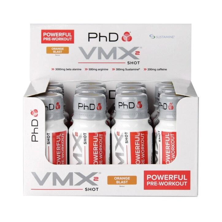 PhD VMX2 Shot Orange Blast 12 x 60ml
