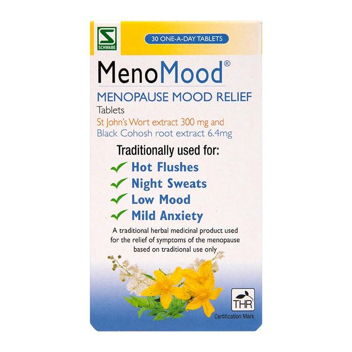 Schwabe Pharma MenoMood 300mg 30 Tablets