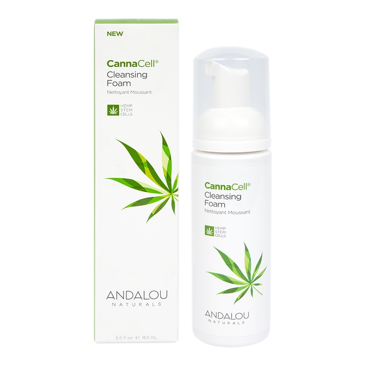 Andalou CannaCell Cleansing Foam 163ml