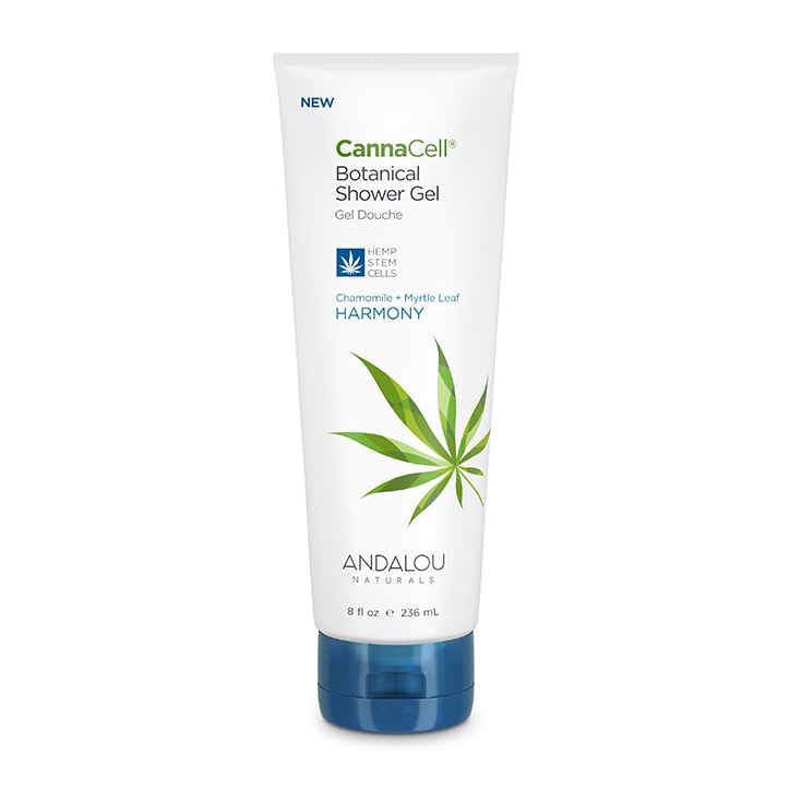 Andalou Naturals CannaCell Botanical Shower Gel - Harmony 236ml