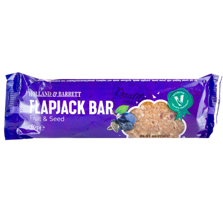 Holland & Barrett Fruit & Seed Flapjack