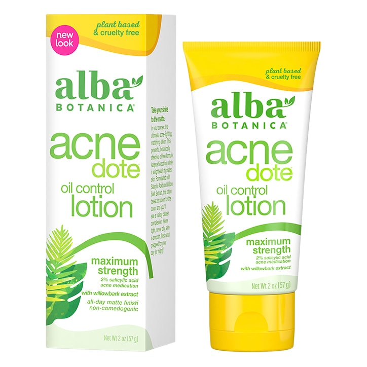 Alba Botanica Acne Oil Control Lotion