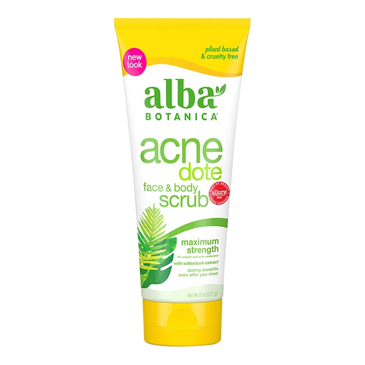 Alba Acne Face & Body Scrub