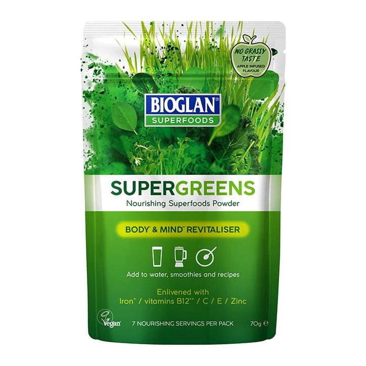 Bioglan Supergreens 70g