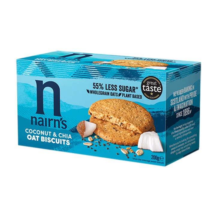 Nairn's Oat Biscuits Coconut & Chia