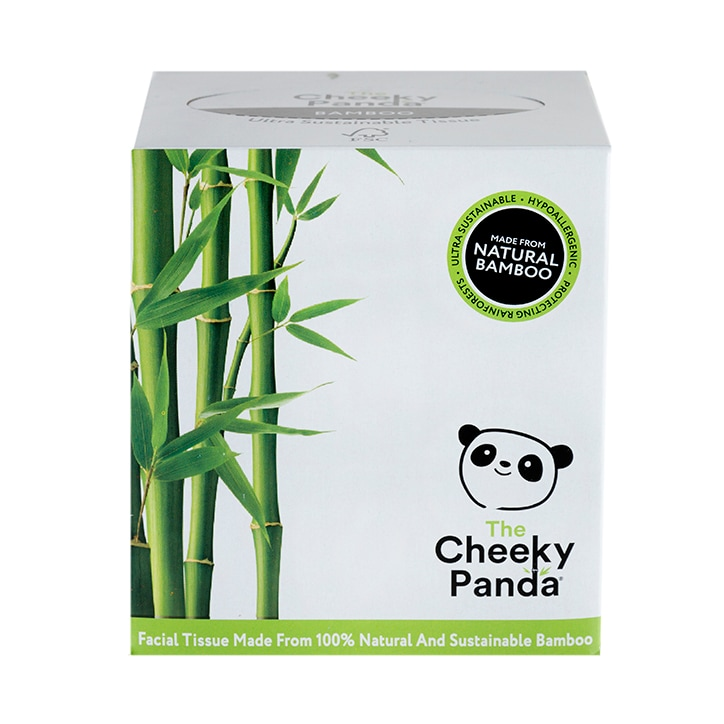 The Cheeky Panda Bamboo Tissues Cube 138g